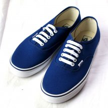 <img class='new_mark_img1' src='//img.shop-pro.jp/img/new/icons14.gif' style='border:none;display:inline;margin:0px;padding:0px;width:auto;' />VANS バンズ AUTHENTIC オーセンティック  Pop Check  Blueprint/TrBl