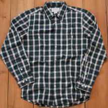 <img class='new_mark_img1' src='//img.shop-pro.jp/img/new/icons50.gif' style='border:none;display:inline;margin:0px;padding:0px;width:auto;' />FILSON フィルソン WILDWOOD SHIRT ワイルドウッドシャツ グリーン
