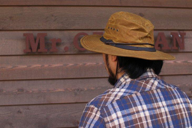 Filson フィルソン Tin Cloth Bush Hat ティンクロスブッシュハット タン サイズxl
