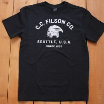 <img class='new_mark_img1' src='//img.shop-pro.jp/img/new/icons14.gif' style='border:none;display:inline;margin:0px;padding:0px;width:auto;' />FILSON フィルソン  #18228 GRAPHIC T-SHIRT グラフィックTシャツ プリントT  ブラック