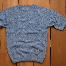 <img class='new_mark_img1' src='//img.shop-pro.jp/img/new/icons14.gif' style='border:none;display:inline;margin:0px;padding:0px;width:auto;' />COLIMBO コリンボ  ROCKHOUNDS KNIT SWEATER  ロックハウンズニットセーター ブルー