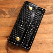 <img class='new_mark_img1' src='https://img.shop-pro.jp/img/new/icons50.gif' style='border:none;display:inline;margin:0px;padding:0px;width:auto;' />AKER エイカー FLAP TRUCKER WALLET フラップトラッカーウォレット
