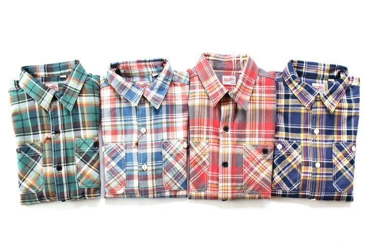 HOUSTON ネルシャツ