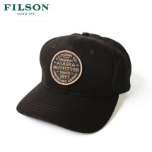 <img class='new_mark_img1' src='https://img.shop-pro.jp/img/new/icons50.gif' style='border:none;display:inline;margin:0px;padding:0px;width:auto;' />FILSON フィルソン CANVAS LOGGER CAP キャンバスロガーキャップ ブラック