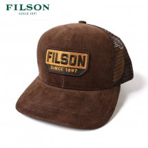 <img class='new_mark_img1' src='https://img.shop-pro.jp/img/new/icons50.gif' style='border:none;display:inline;margin:0px;padding:0px;width:auto;' />FILSON フィルソン CORDUROY LOGGER MESH CAP コーデュロイロガーメッシュキャップ ブラウン