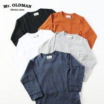 ミスターオールドマン Mr.OLDMAN  ストレッチフライス7分袖Tシャツ STRETCH FRAISE 3/4 SLEEVE TEE