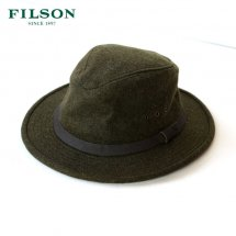 <img class='new_mark_img1' src='//img.shop-pro.jp/img/new/icons14.gif' style='border:none;display:inline;margin:0px;padding:0px;width:auto;' />フィルソン FILSON ハット 帽子 ウール ウールパッカーハット WOOL PACKER HAT オリーブ サイズXL