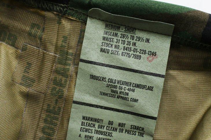 米軍 アメリカ軍 ECWCS ゴアテックスパンツ