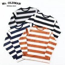 ミスターオールドマン Mr.OLDMAN ヘビーボーダー長袖Tシャツ HEAVY BORDER L/S Tee