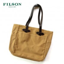 <img class='new_mark_img1' src='https://img.shop-pro.jp/img/new/icons50.gif' style='border:none;display:inline;margin:0px;padding:0px;width:auto;' />フィルソン FILSON バッグ トートバッグ ウィズアウトジッパー TOTE BAG WITHOUT ZIPPER アメリカ製 タン
