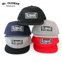 ミスターオールドマン Mr.OLDMAN ツイルトラッカーキャップ TWILL TRUCKER CAP