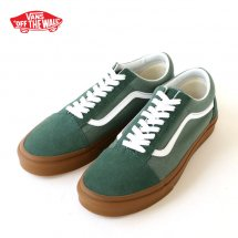 <img class='new_mark_img1' src='https://img.shop-pro.jp/img/new/icons50.gif' style='border:none;display:inline;margin:0px;padding:0px;width:auto;' />VANS バンズ OLD SKOOL オールドスクール ダックグリーン ガムソール Duck Green/Gum