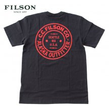 <img class='new_mark_img1' src='https://img.shop-pro.jp/img/new/icons50.gif' style='border:none;display:inline;margin:0px;padding:0px;width:auto;' />フィルソン FILSON  #62528 グラフィックTシャツ S/S GRAPHIC T-SHIRT フェイドブラック