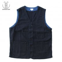 <img class='new_mark_img1' src='https://img.shop-pro.jp/img/new/icons50.gif' style='border:none;display:inline;margin:0px;padding:0px;width:auto;' />ジャパンブルージーンズ JAPAN BLUE JEANS JBVD01  刺子ベスト Sashiko Vest