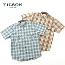 <img class='new_mark_img1' src='//img.shop-pro.jp/img/new/icons14.gif' style='border:none;display:inline;margin:0px;padding:0px;width:auto;' />フィルソン FILSON フェザークロスショートスリーブシャツ FEATHER CLOTH SHORT SLEEVE SHIRT