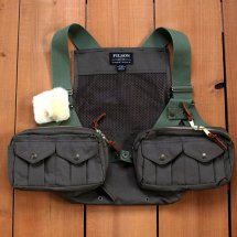 <img class='new_mark_img1' src='https://img.shop-pro.jp/img/new/icons50.gif' style='border:none;display:inline;margin:0px;padding:0px;width:auto;' />フィルソン FILSON メッシュフライフィッシングストラップベスト Mesh Fly Fishing Strap Vest