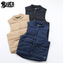<img class='new_mark_img1' src='//img.shop-pro.jp/img/new/icons14.gif' style='border:none;display:inline;margin:0px;padding:0px;width:auto;' />ブルコ BLUCO WORK GARMENT OL-059-018 キルティングベスト QUILTING VEST