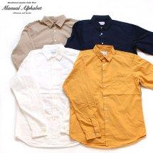 マニュアルアルファベット MANUAL ALPHABET ルーズフィットレギュラーカラーシャツ
