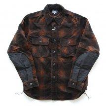 """トパーズ TOPAZ TS-2249 ワーカーズシャツ Worker's Shirts """"JACKSON"""" ブラウン"""