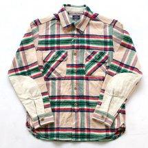 """トパーズ TOPAZ TS-2250 ワーカーズシャツ Worker's Shirts """"JACKSON"""" ナチュラル"""