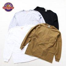 グッドウェア GOODWEAR 7.2オンス ヘビーウエイト長袖クルーネックポケットTシャツ アメリカ製