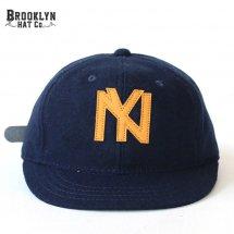 ブルックリンハット BROOKLYN HAT アンパイアキャップ UMPIRE CAP ネイビー