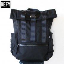 デフィーバッグス DEFY BAGS バーボッケルロールトップパック Ver Bockel Rolltop Pack ブラック ワックスキャンバス Black Wax Canvas