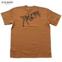 <img class='new_mark_img1' src='https://img.shop-pro.jp/img/new/icons50.gif' style='border:none;display:inline;margin:0px;padding:0px;width:auto;' />フィルソン FILSON #05782 グラフィックTシャツ GRAPHIC T-SHIRT ブラウン