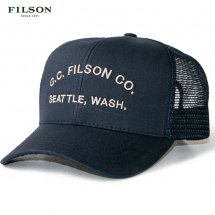 <img class='new_mark_img1' src='https://img.shop-pro.jp/img/new/icons50.gif' style='border:none;display:inline;margin:0px;padding:0px;width:auto;' />フィルソン FILSON ロガーメッシュキャップ CCF LOGGER MESH CAP CCF ネイビー