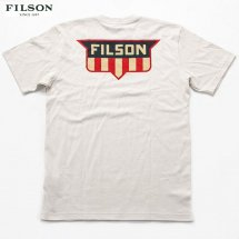 <img class='new_mark_img1' src='https://img.shop-pro.jp/img/new/icons50.gif' style='border:none;display:inline;margin:0px;padding:0px;width:auto;' />フィルソン FILSON #77630 グラフィックTシャツ GRAPHIC T-SHIRT アイスグレー