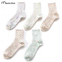 マウナケアソックス Mauna Kea Socks 靴下 スラブネップツイスター杢ソックス 109802