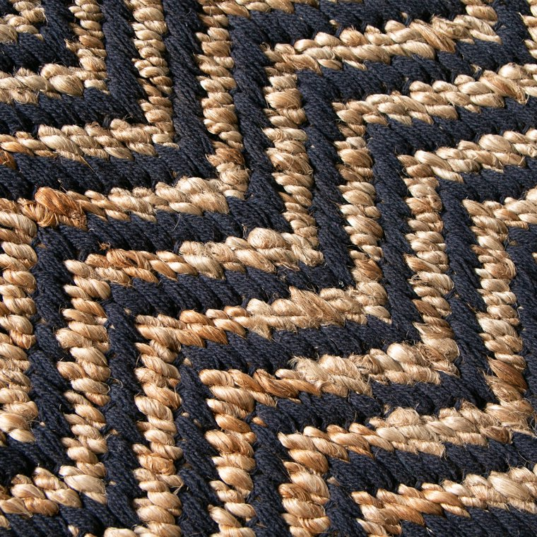 Hemp Cotton Herringbone Rug