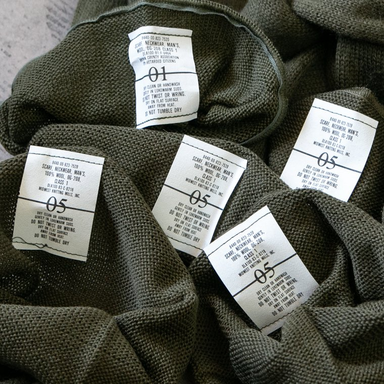 US ARMY アメリカ軍 GI SCALF GIスカーフ マフラー ウール