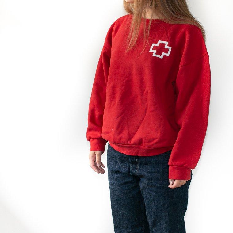 スペイン 赤十字 スウェット