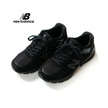 <img class='new_mark_img1' src='https://img.shop-pro.jp/img/new/icons56.gif' style='border:none;display:inline;margin:0px;padding:0px;width:auto;' />ニューバランス NEW BALANCE M990v5 BK5 オールブラック