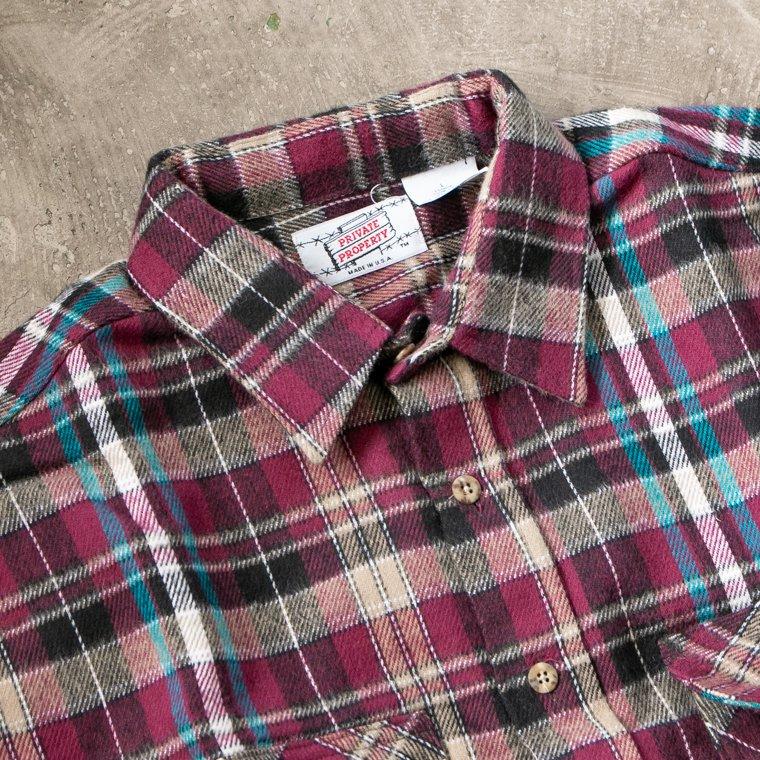 アメリカ製ネルシャツ