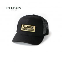 <img class='new_mark_img1' src='https://img.shop-pro.jp/img/new/icons14.gif' style='border:none;display:inline;margin:0px;padding:0px;width:auto;' />フィルソン FILSON ロガーメッシュキャップ LOGGER MESH CAP 57135 ブラック