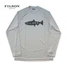 <img class='new_mark_img1' src='https://img.shop-pro.jp/img/new/icons14.gif' style='border:none;display:inline;margin:0px;padding:0px;width:auto;' />フィルソン FILSON バリアーロングスリーブ高機能Tシャツ BRRIER L/S Tee グレー