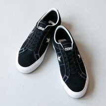 <img class='new_mark_img1' src='https://img.shop-pro.jp/img/new/icons50.gif' style='border:none;display:inline;margin:0px;padding:0px;width:auto;' />コンバース CONVERSE CONS スニーカー ワンスタープロ ONE STAR PRO OX BLACK/WHITE/WHITE ブラックスエード
