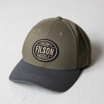 <img class='new_mark_img1' src='https://img.shop-pro.jp/img/new/icons14.gif' style='border:none;display:inline;margin:0px;padding:0px;width:auto;' />フィルソン FILSON ロガーキャップ LOGGER CAP オリーブ