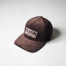 <img class='new_mark_img1' src='https://img.shop-pro.jp/img/new/icons14.gif' style='border:none;display:inline;margin:0px;padding:0px;width:auto;' />フィルソン FILSON #80528 コーデュロイロガーキャップ CORDUROY LOGGER CAP ブラウン