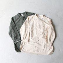 <img class='new_mark_img1' src='https://img.shop-pro.jp/img/new/icons50.gif' style='border:none;display:inline;margin:0px;padding:0px;width:auto;' />スタンダードシャツ STANDARD SHIRT バンドカラーシャツ Band Collar Shirt