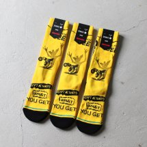 <img class='new_mark_img1' src='https://img.shop-pro.jp/img/new/icons50.gif' style='border:none;display:inline;margin:0px;padding:0px;width:auto;' />スタンスソックス STANCE SOCKS グレムリン Gremlin WHAT YOU GET イエロー×ブラック