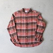 <img class='new_mark_img1' src='https://img.shop-pro.jp/img/new/icons14.gif' style='border:none;display:inline;margin:0px;padding:0px;width:auto;' />スタンダードシャツ STANDARD SHIRT バンドカラーネルシャツ Band Collar Nel Shirt ピンク