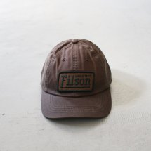 <img class='new_mark_img1' src='https://img.shop-pro.jp/img/new/icons50.gif' style='border:none;display:inline;margin:0px;padding:0px;width:auto;' />フィルソン FILSON 04545 ロープロファイルキャップ Low-Profile Cap ワックスコットン ブラウン