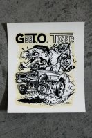 <img class='new_mark_img1' src='https://img.shop-pro.jp/img/new/icons14.gif' style='border:none;display:inline;margin:0px;padding:0px;width:auto;' />ORIGINAL 60's DEADSTOCK DECAL from ED ROTH デッドストック水貼りステッカー GEETO TIGER