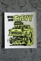 <img class='new_mark_img1' src='https://img.shop-pro.jp/img/new/icons14.gif' style='border:none;display:inline;margin:0px;padding:0px;width:auto;' />ORIGINAL 60's DEADSTOCK DECAL from ED ROTH デッドストック水貼りステッカー MAKE MINE CHEVY