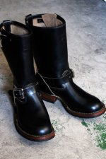 <img class='new_mark_img1' src='//img.shop-pro.jp/img/new/icons14.gif' style='border:none;display:inline;margin:0px;padding:0px;width:auto;' />WHITE'S BOOTS ホワイツブーツ NOMAD ノマド エンジニアブーツ クロムエクセルレザー ブラック