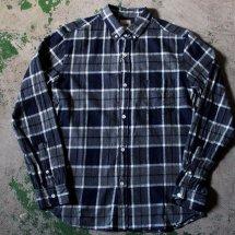 FOB factory エフオービーファクトリー F3372 CHECK BD SHIRTS チェックボタンダウンシャツ
