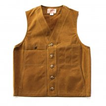 <img class='new_mark_img1' src='//img.shop-pro.jp/img/new/icons50.gif' style='border:none;display:inline;margin:0px;padding:0px;width:auto;' />FILSON フィルソン OIL TIN CLOTH VEST オイルティンクロスベスト タン
